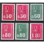 Roulettes bequet timbres neufs sans charnière