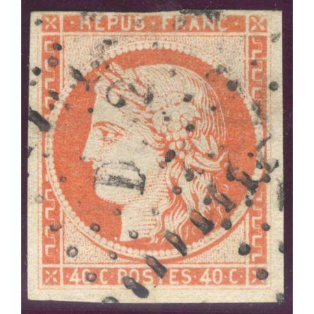 Timbre collection N° Yvert et Tellier 5 Oblitéré, bel exemplaire