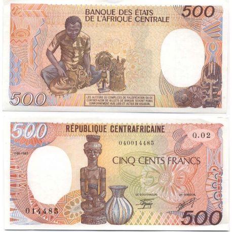 CENTRAFRIQUE - Pk N° 14 - Billet de 500