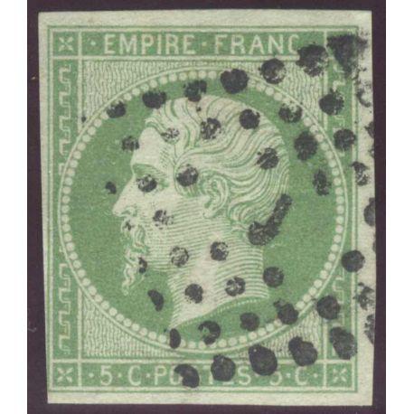 Timbre collection N° Yvert et Tellier 12 Oblitération Losange