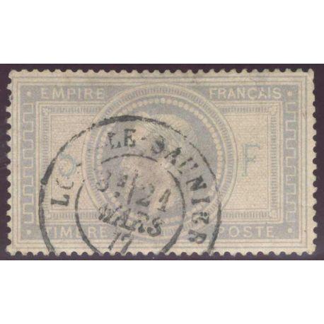 Timbre collection N° Yvert et Tellier 33 Oblitéré Cad