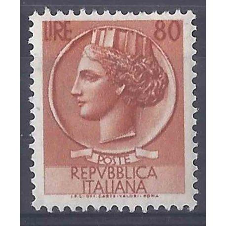 Timbre collection Italie N° Yvert et Tellier 655 Neuf sans charnière