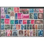 Die DDR 1955 ganzes Jahr in neuen Briefmarken