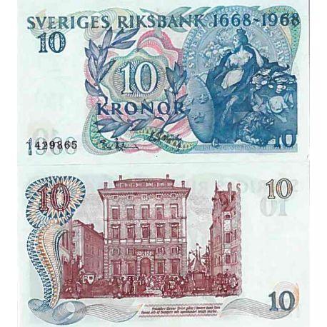 Billet de banque collection Suede - PK N° 56 - 10 Kronor
