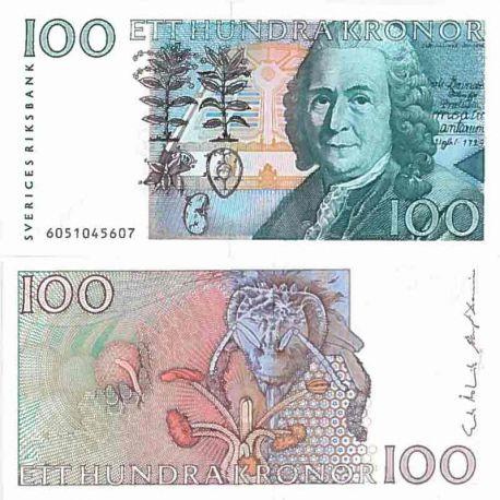 Billet de banque collection Suede - PK N° 57 - 100 Kronor
