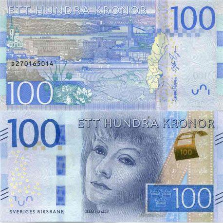 Billet de banque collection Suede - PK N° 71 - 100 Kronor