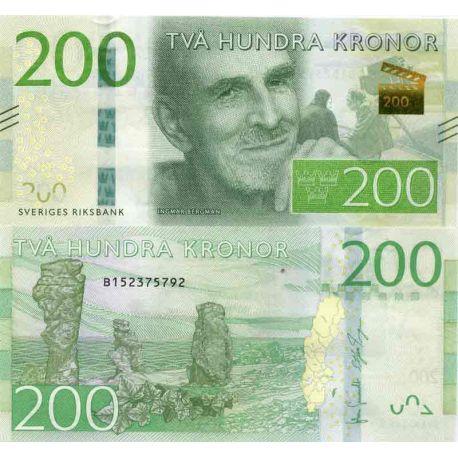 Billet de banque collection Suede - PK N° 72 - 200 Kronor