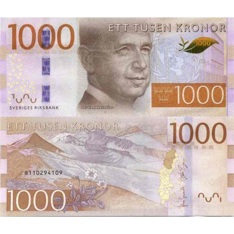Banknote Sweden collection - PK N° 74 - 1000 Kronor