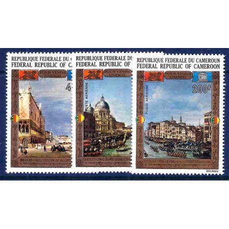 Stempel Sammlung Kamerun N° Yvert und Tellier PA 197/199 neun ohne Scharnier
