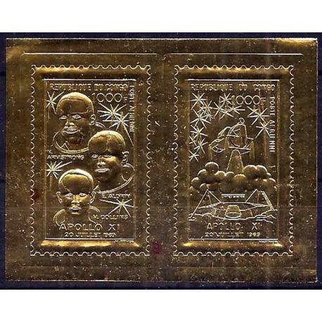 Stempel Sammlung der Kongo N° Yvert und Tellier BF 6 neun ohne Scharnier
