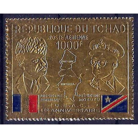 Stempel Sammlung Tschad N° Yvert und Tellier PA 60 neun ohne Scharnier