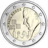 Estonie - 2 euro 2016 - Paul Keres