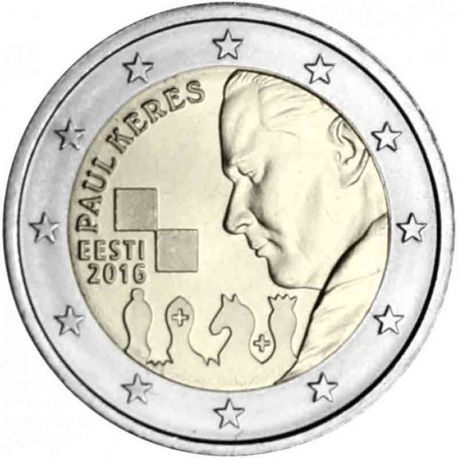 Estonie - 2 euro 2017 - Paul Keres