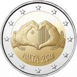 Malte - 2 euro 2016 - Amour