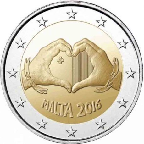 Malta - 2 Euro 2017 - Liebe