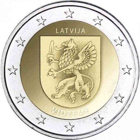 Lettonie - 2 euro 2017 - Vidzeme