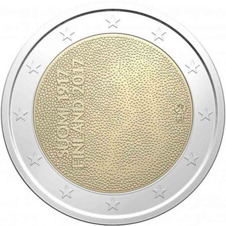 Finlandia - 2 euro 2017 - indipendenza finlandese