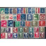 Die DDR 1952 ganzes Jahr in neuen Briefmarken