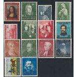 Die Bundesrepublik Deutschland 1952 ganzes Jahr in neuen Briefmarken