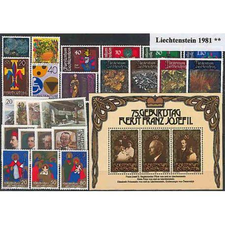 Liechtenstein 1981