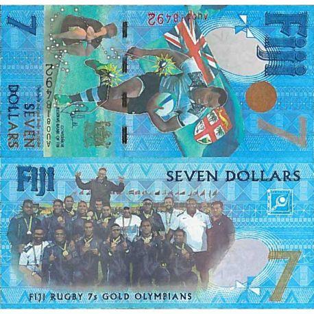 Billets de collection Billet de banque collection Fidji - PK N° 120 - 7 Dollars Billets des Fidji 15,00 €