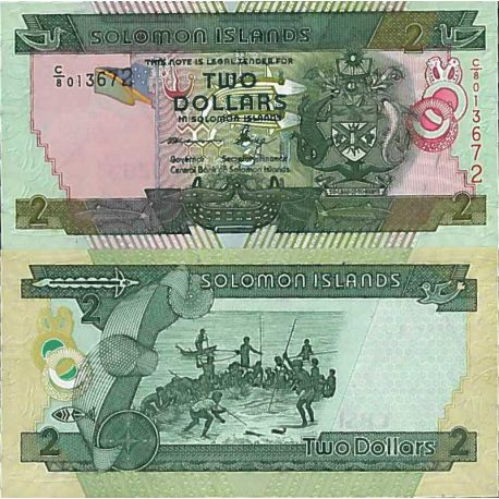 Billet de banque collection Salomon - PK N° 999 - 2 Dollars