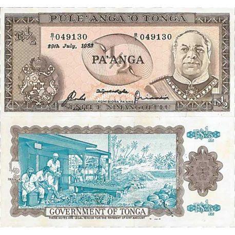 Billets de collection Billet de banque collection Tonga - PK N° 18 - 0,5 Pa'anga Billets du Tonga 28,00 €