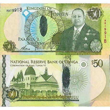 Billets de collection Billet de banque collection Tonga - PK N° 48 - 50 Pa'anga Billets du Tonga 68,00 €