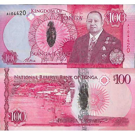 Billets de collection Billet de banque collection Tonga - PK N° 49 - 100 Pa'anga Billets du Tonga 120,00 €
