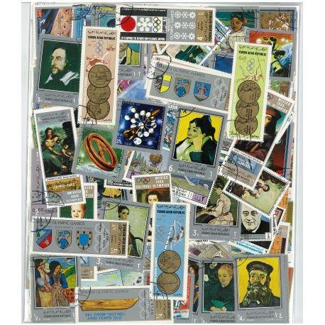 Jemen - 100 verschiedene Briefmarken