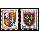 Timbre de collection de France N° 958/59 Neuf sans charnière
