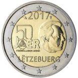 Luxemburgo - 2 euro 2017 - Servicio Militar Voluntario