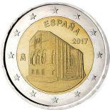 Espagne - 2 euro 2017 - Patrimoine de l'UNESCO Oviedo des Asturies