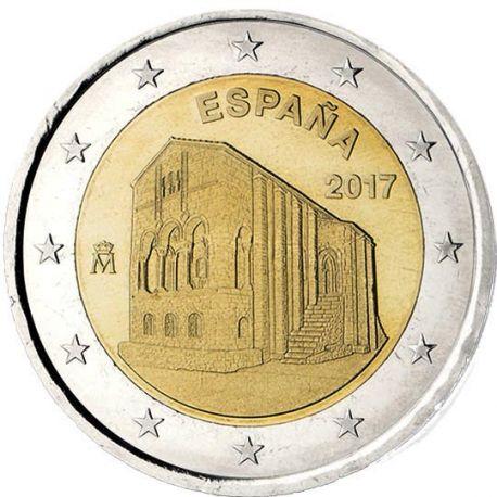 Spanien - 2 Euro 2017 - Patrimoine UNESCO Oviedo Asturiens