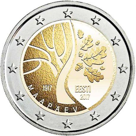 Estonia - 2 euro 2017 - Camino hacia la independencia