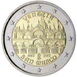 Italie - 2 euro 2017 - Place Saint Marc à Venise