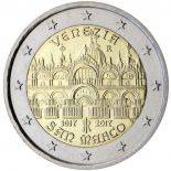 Italy - 2 euro 2017 - Place Saint Marc in Venice