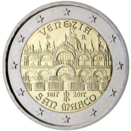 Italia - 2 euro 2017 - Lugar Santo Marc en Venecia