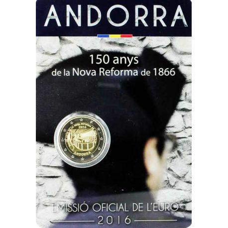 Andorra - 2 euro 2017 - 150 years of the reform of 1866