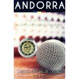 Andorra - 2 euro 2017 - 25 anni della radio televisione d'Andorra