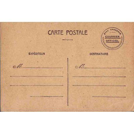 Entier postal de service 1942