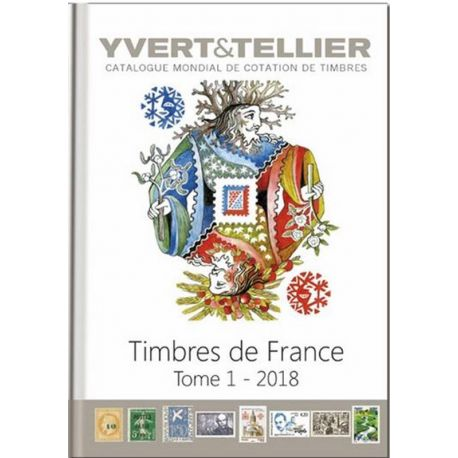 Catalogue France Yvert et Tellier 2018
