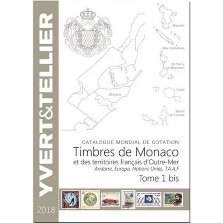 Catalogue Monaco et TOM Yvert et Tellier 2018