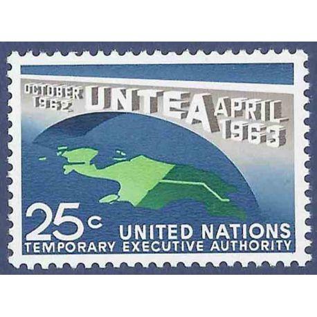 Briefmarkensammlung UNO New York N° Yvert und Tellier 114 neun ohne Scharnier