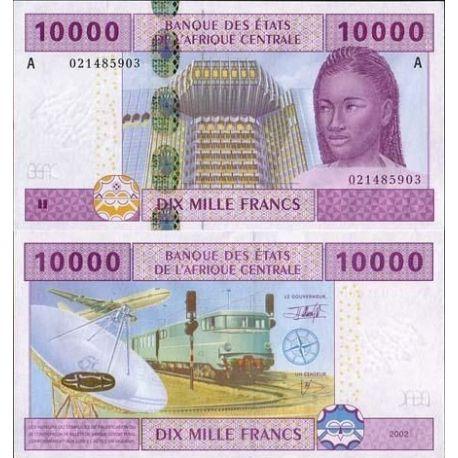 Afrique Centrale Gabon - Pk N° 410 - Billet de 10000 Francs