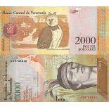 Banknote Sammlung Venezuela - PK Nr. 96 - 2.000 Bolivares