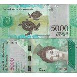 Banknote Venezuela collection - PK N° 97 - 5,000 Bolivares