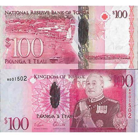 Billets de collection Billet de banque collection Tonga - PK N° 43 - 100 Pa'anga Billets du Tonga 144,00 €