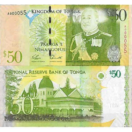 Billets de collection Billet de banque collection Tonga - PK N° 42 - 50 Pa'anga Billets du Tonga 85,00 €