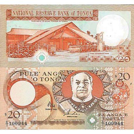 Billets de collection Billet de banque collection Tonga - PK N° 41 - 20 Pa'anga Billets du Tonga 41,00 €